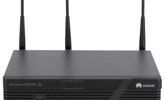 (Huawei)华为USG2110-F-W防火墙  统一安全网关 无线防火墙 2Wan+8FE+WLAN