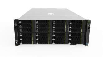 华为(HUAWEI)FusionServer 5288 V3(36硬盘单RAID卡机箱,E5-2620V3 CPU,16GB内存,SR130卡,750W电源,滑轨)