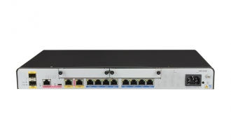 华为(HUAWEI)AR1220E-S路由器 2千兆WAN 8千兆LAN 2USB 全业务路由 企业路由器