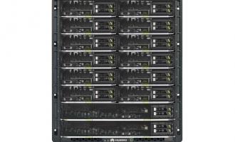 华为(HUAWEI)E9000刀片服务器机箱 12U刀片服务器机箱 支持16台刀片服务器