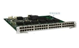 华为(HUAWEI)ES0D0G48TA00业务板卡 48端口十兆/百兆/千兆以太网电接口板(EA,RJ45)