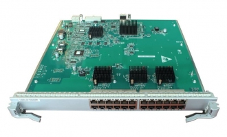 华为(HUAWEI)ES0DG24TFA00业务板卡 24端口十兆/百兆/千兆以太网电接口板(FA,RJ45)