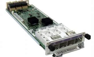 华为(HUAWEI)ES5D000X4S00业务板卡 4端口万兆SFP+接口板(含4端口万兆SFP+接口板,扩展通道卡)