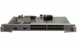 华为(HUAWEI)LE0DS24XEA00业务板卡 24端口百兆/千兆以太网光接口和2端口万兆以太网光接口板(EA,SFP/XFP)