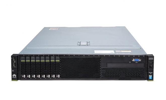 华为(HUAWEI)RH2288V3服务器(E5-2620V4 CPU,16G DDR4内存,2*600G硬盘,SR130阵列卡,2*GE,460W电源,DVD,滑轨)