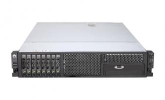 华为(HUAWEI)RH2288H V2服务器(E5-2609V2 CPU,8G内存,1T硬盘,集成RAID0/1,滑轨)