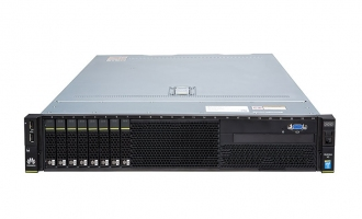 华为(HUAWEI)RH2288H V3服务器(1*E5-2620V4 CPU,16GB DDR4内存,无RAID卡,无硬盘,4*GE,460W电源,DVD,滑轨)