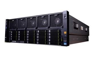 华为(HUAWEI)RH5885V3服务器市场典配(23HDD机型,2*E7-4820V4 CPU,2*16GB DDR4内存,1*2.5″ 600GB SAS 硬盘,SR430C RAID0/1/5 1G Cache ,4*GE,2*1200W电源,DVD,滑轨)