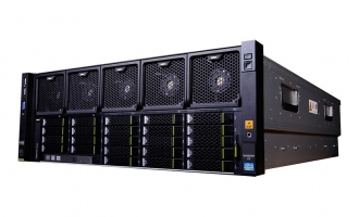 华为(HUAWEI)RH5885H V3服务器 (8HDD机型,2*E7-4820V4 CPU,4*16GB DDR4内存,1*2.5″ 600GB SAS 硬盘,SR430C RAID0/1/5 1G Cache ,4*GE,2*2000W电源,DVD,滑轨)