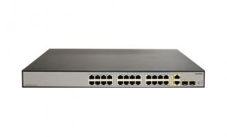 华为(HUAWEI)S1700-28FR-2T2P-AC交换机 24口+2SFP百兆智能交换机