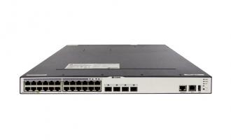 华为(HUAWEI)S5700-24TP-PWR-SI交换机 24个千兆网口,4个复用千兆SFP,POE供电交换机