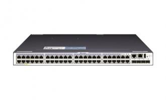 华为(HUAWEI)S5700-48TP-PWR-SI交换机 48个千兆网口,4个复用千兆SFP,POE供电交换机