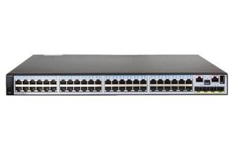 华为(HUAWEI)S5710-52C-EI交换机 48个千兆以太网口,4个10GE SFP+,上行支持双卡