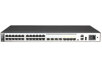 华为(HUAWEI)S5720-32P-EI-AC交换机 24个千兆以太网口,千兆SFP,2个QSFP