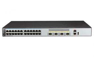 华为(HUAWEI)S5720S-28P-SI-AC交换机 24个千兆以太网端口,4个千兆SFP