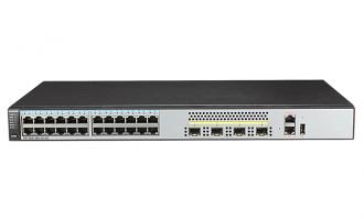 华为(HUAWEI)S5720S-28X-SI-AC交换机 24个千兆以太网端口,4个万兆SFP