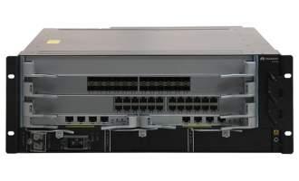 华为(HUAWEI)S7703交换机 基本引擎交流组合配置(含一体化总装机箱,MCUA主控板*2,800W交流电源*2)