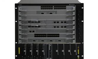 华为(HUAWEI)S7706-2SRUA-2L2AC-B交换机 组合配置(含一体化非PoE总装机箱,SRUA主控板*2,48端口千兆电接口板(FA,RJ45)*1,48端口千兆光接口板(FA,SFP)*1)