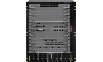 华为(HUAWEI)S7712交换机 组合配置 (含一体化总装机箱,MCUA主 控板*2,1600W交流电源*2)