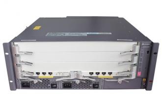 华为(HUAWEI)S9303交换机 组合配置 (含一体化总装机箱,SRUA主控板*2,800W交流电源*2)