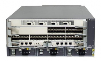 华为(HUAWEI)S9306交换机 组合配置 (含一体化总装机箱,SRUA主控板*2,1600W交流电源*2)