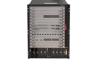 华为(HUAWEI)S9712核心路由交换机 基本引擎交流组合配置 (含一体化总装机箱,SRUD主控板*2,2200W交流电源*2,基本软件*1)
