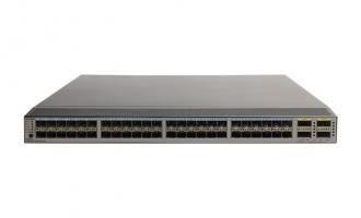 华为(HUAWEI)CE6810-48S4Q-EI数据中心交换机  48个10GE SFP+接口,4个40GE QSFP+接口