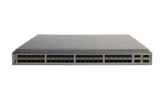 华为(HUAWEI)CE6850-48S4Q-EI数据中心交换机  48个10GE SFP+ 接口,或 2/4/8G FC 接口,6个40GE QSFP+接口