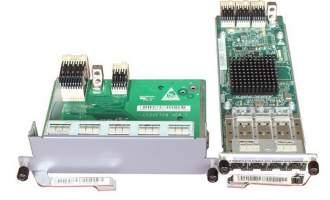 华为(HUAWEI)ES5D000G4S00板卡 4端口千兆SFP接口板(含4端口千兆SFP接口板,扩展通道卡)(S5700EI系列使用)