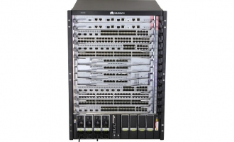 华为(HUAWEI)S12708交换机 基本引擎交流组合配置 (含一体化总装机箱*1,MPUA主控板*2,SFUA交换网单元*3,2200W交流电源*2,48端口十兆/百兆/千兆以太网电接口板(X1E,RJ45)*1,基本软件*1)