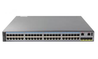 华为(HUAWEI)S5720-52P-SI-AC交换机 48个千兆以太网端口,4个千兆SFP