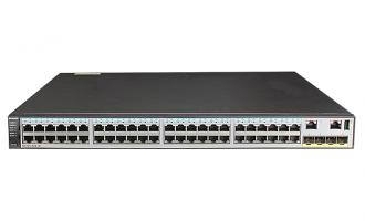 华为(HUAWEI)S5720-52X-PWR-SI-AC交换机 POE供电交换机,48个千兆以太网端口,4个万兆SFP+