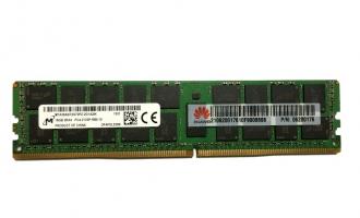 华为(HUAWEI)服务器通用内存DDR4 RDIMM-32GB-288pin-0.83ns-2400000KHz-1.2V-ECC-2Rank(2G*4bit)(适用于华为V3系列服务器)