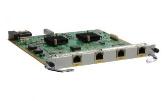 华为(HUAWEI)AR01WEG4TA 4端口1000BASE-RJ45-L3以太WAN接口卡 (适用于华为路由器)