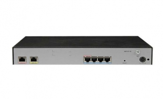 华为(HUAWEI)AR121-S路由器 单WAN口+4LAN口百兆企业web网管路由器