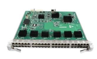华为(HUAWEI)ES0DG48TFA00 48端口十兆/百兆/千兆以太网电接口板(FA,RJ45) (适用于华为S7700系列交换机)