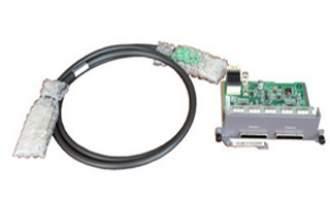 华为(HUAWEI)ES5D21VST000堆叠卡 堆叠接口板2*QSFP+专用堆叠卡(含1M QSFP+线缆)S5720使用