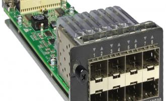 华为(HUAWEI)ES5D21G08S00业务板卡 8端口千兆SFP接口板(S5710EI系列使用)