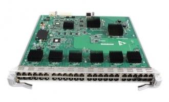 华为(HUAWEI)LE0DG48TFA00 48端口百兆/千兆以太网电接口板(FA,RJ45) (适用于华为S9300系列交换机)