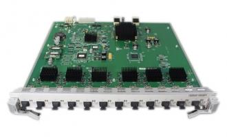 华为(HUAWEI)LE0DX12XSA00 12端口万兆以太网光接口板(SA,SFP+) (适用于华为S9300系列交换机)
