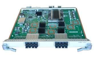 华为(HUAWEI)LE0DX16SFC00 16端口万兆以太网光接口板(FC,SFP+) (适用于华为S9300系列交换机)