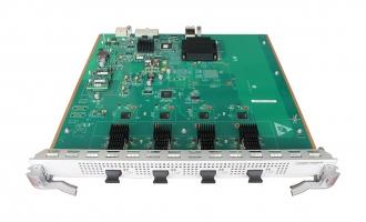 华为(HUAWEI)LE0MX4UXA业务板卡 4端口万兆以太网光接口板(EA,XFP)(适用于S9300交换机)