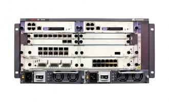 华为(HUAWEI)NE20E-X6路由器 8槽位多业务企业路由器 可配板卡