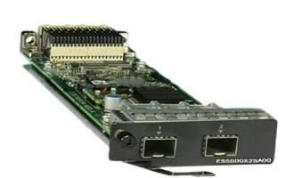 华为(HUAWEI)ES5D00X2SA00万兆板卡 2端口万兆SFP+接口板(S5700HI系列使用)