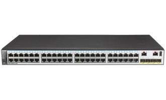 华为(HUAWEI)S5710-52X-LI-AC交换机  48个10/100/1000Base-T以太网端口,4个万兆SFP+