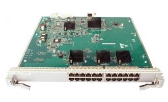 华为(Huawei)LE0DG24TFA00 24端口百兆/千兆以太网电接口板(FA,RJ45)(适用于华为S9300系列交换机)
