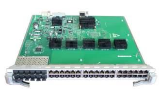 华为(Huawei)LE0DG48CEAT0 36端口百兆/千兆以太网电接口和12端口百兆/千兆以太网光接口板(EA,RJ45/SFP)(适用于华为S9300系列交换机)
