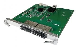 华为(Huawei)LE0MG24CA 24端口百兆/千兆以太网光接口和8端口百兆/千兆Combo电接口板(SA,SFP/RJ45)(适用于华为S9300系列交换机)