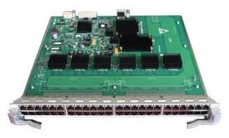华为(Huawei)LE0MG48TC 48端口百兆/千兆以太网电接口板(EC,RJ45)(适用于华为S9300系列交换机)