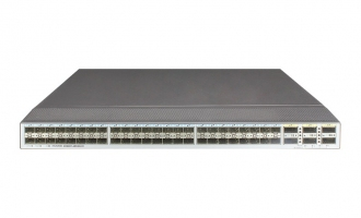 华为(HUAWEI)CE6855-48S6Q-HI数据中心交换机(48*万兆SFP+,6*40G QSFP+,2*交流电源,端口侧进风)